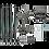 Thumbnail: Holograma 3d Led Fan 65 cms