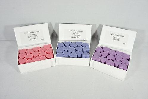 15 Handmade Mini Mini Heart Soy Wax Melts Inspired By Fragrances E - O
