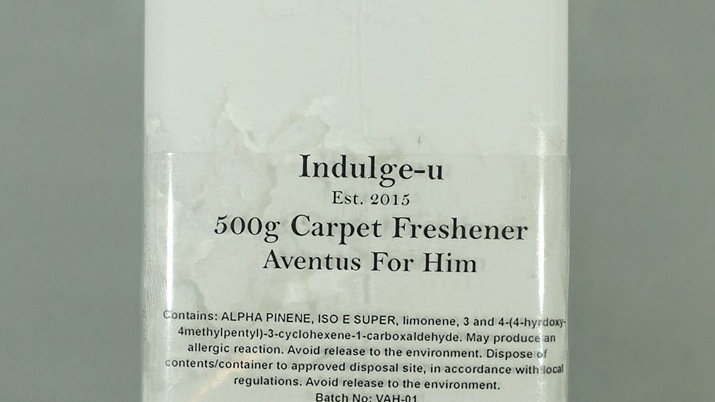 500g Highly Scented Carpet Freshener / Deodorizer Inspired By Fragrances.
