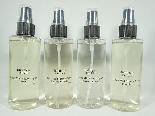 125ml Linen Mist / Room Spray Inspired By Fragrances. A-G