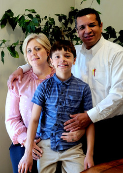 Pastor Cesar, Shannon, and Alex