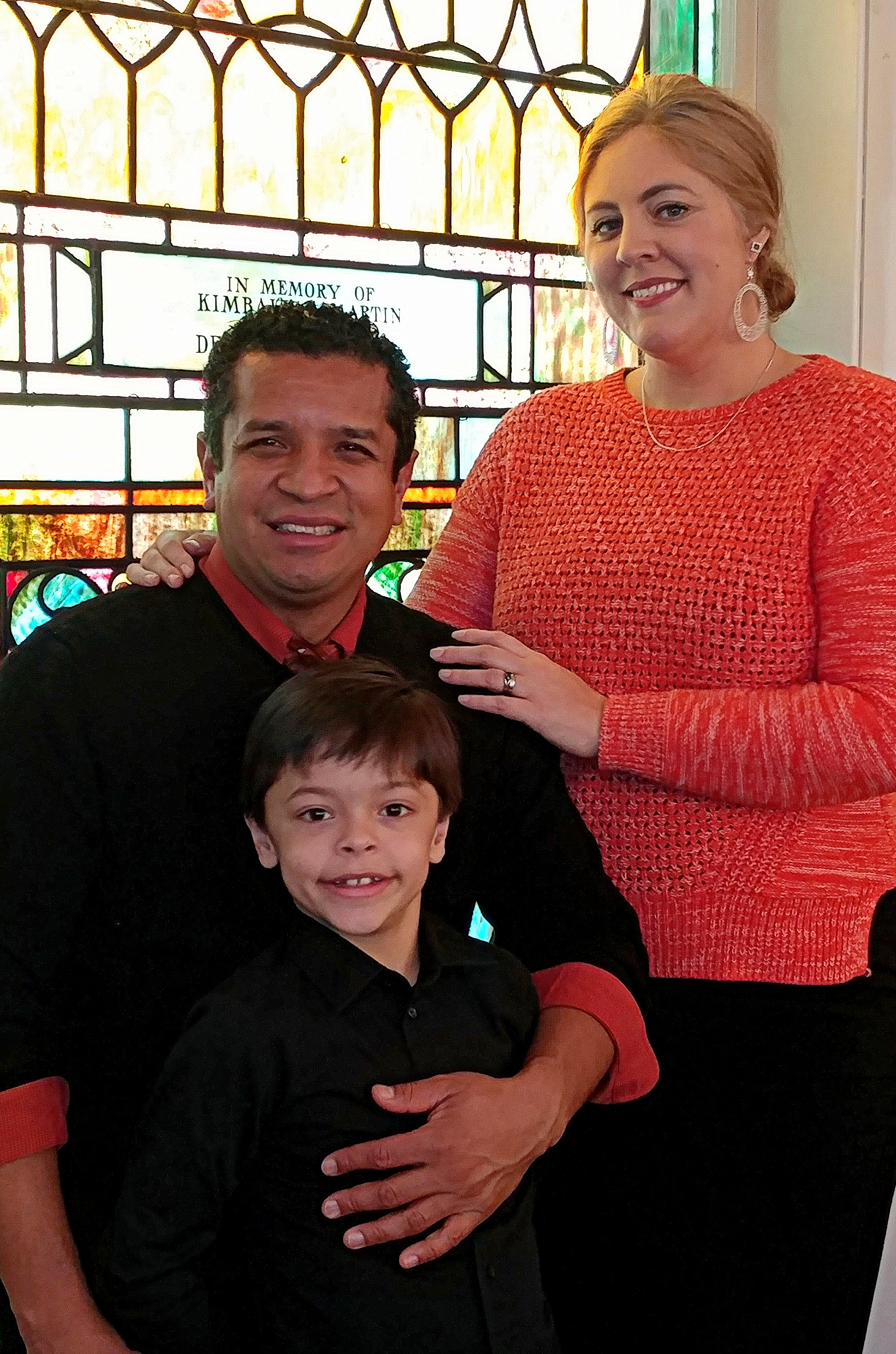 Pastor Cesar, Shannon and Alex