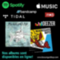 Les albums des Beauregard Boys en écoute en ligne