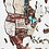 Thumbnail: 3D Multilayered World Map Color Cappuccino