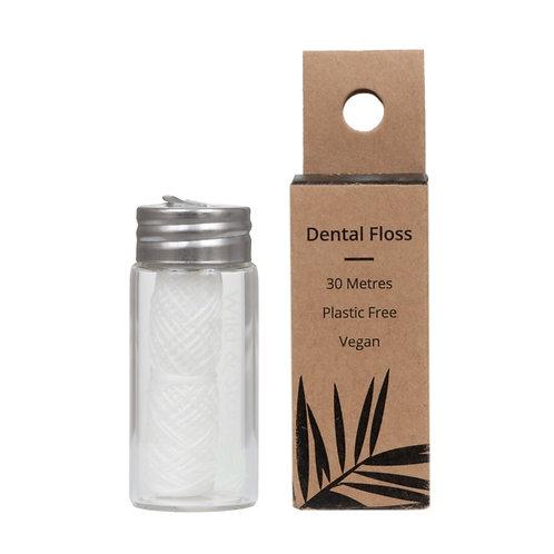 Refillable Corn Starch Dental Floss - Mint