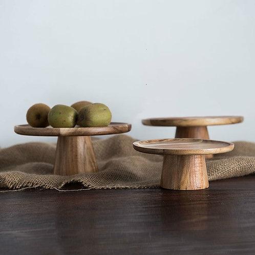 Creative Wooden Dessert Display