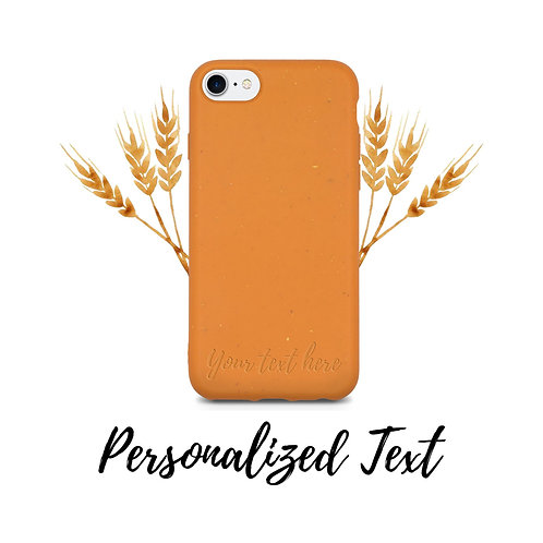 Biodegradable & Personalized Phone Case
