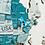Thumbnail: 3D Multilayered World Map Color Aqua