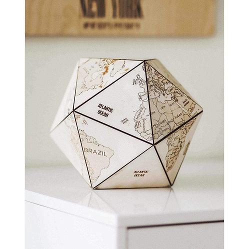 Wooden World Icosahedron