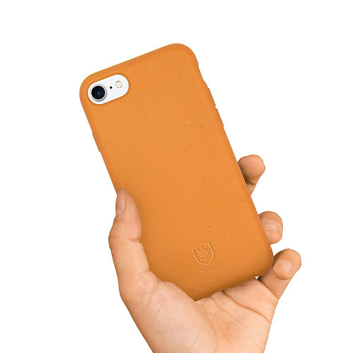 SPECIAL COVID   Coque Biodégradable ANTIVIRALE  pour votre iPhone - Orange