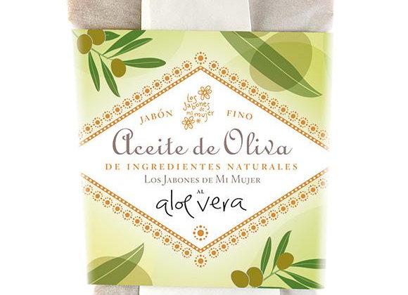 JABÓN DE ACEITE DE OLIVA AL ALOE VERA