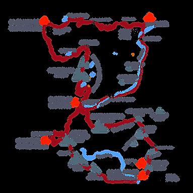 Alta Ruta del Guadarrama_2020 RECORRIDO