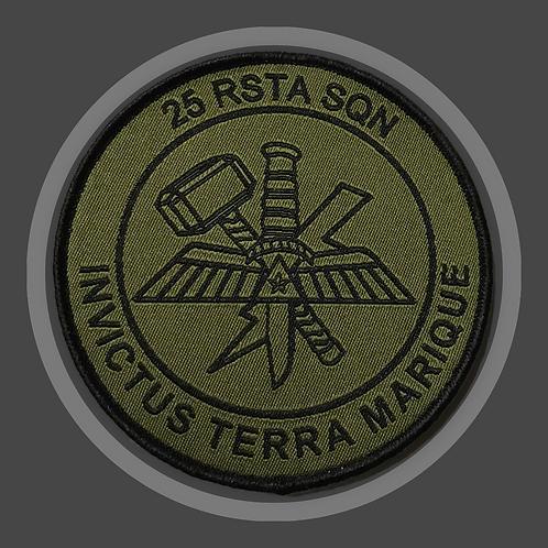 25 RSTA SQN geweven patch