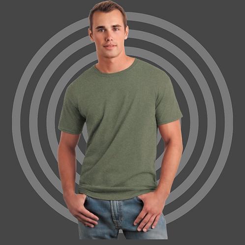 Shirt met eigen opdruk borst