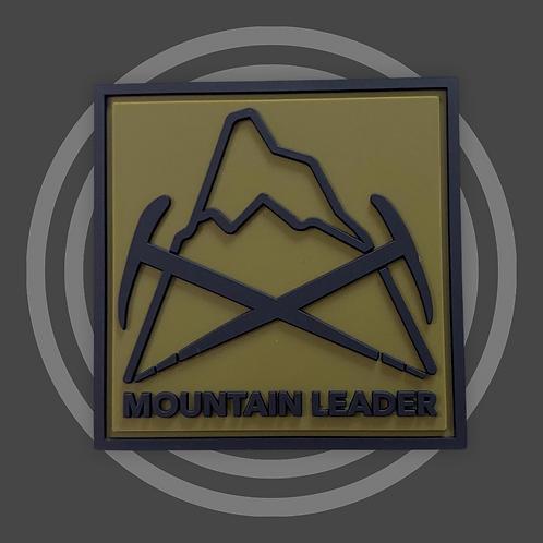 Rubberen patch Mountain Leader