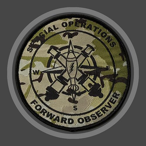 FORWARD OBSERVER geweven badge GRATIS VERZENDEN