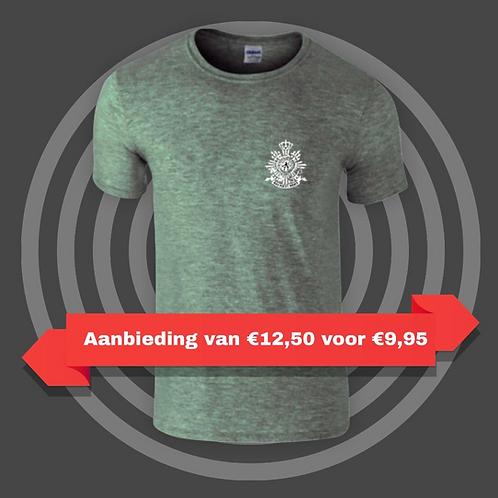 Duoblend   shirt incl logo korps mariniers