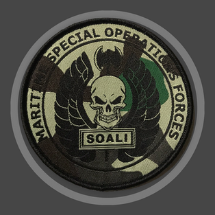 Special Forces SOALI geweven patch