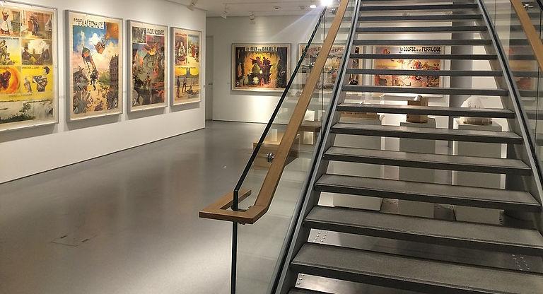Sol terrazzo et escalier