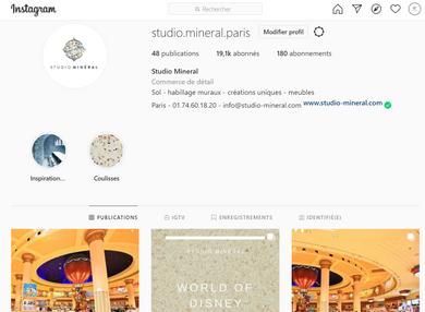 Notre page Instagram