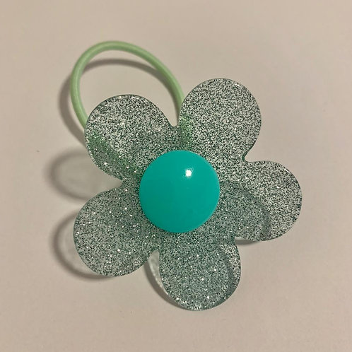 Elástico Flor Verde