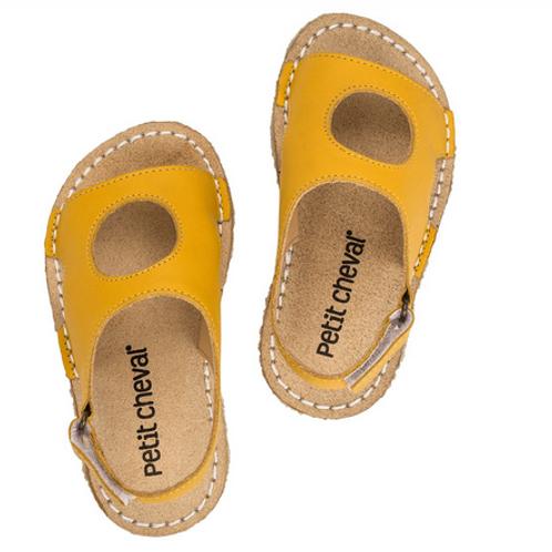 Sandália Infantil Peteca Amarelo