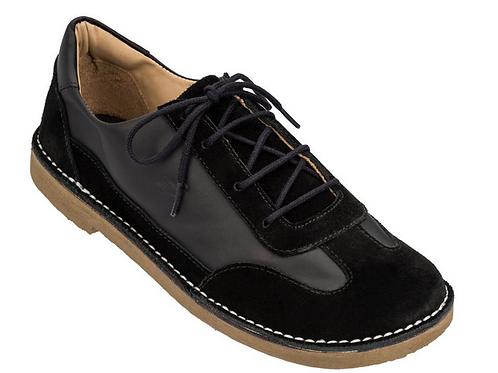 Sapato Infantil Botão Camurça Noir/ Noir