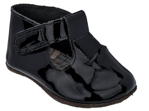 Sapato Infantil Chocalho Verniz Noir - Mini