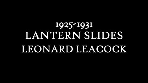1925-1931 Lantern Slides, 1925-1931, Leonard Leacock, Whyte Museum of the Canadian Rockies, Leonard Leacock fonds (V353/PS-1 to PS-235)