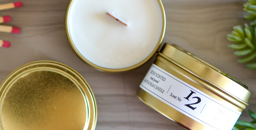 Top Hat 6oz Soy Candle Tin