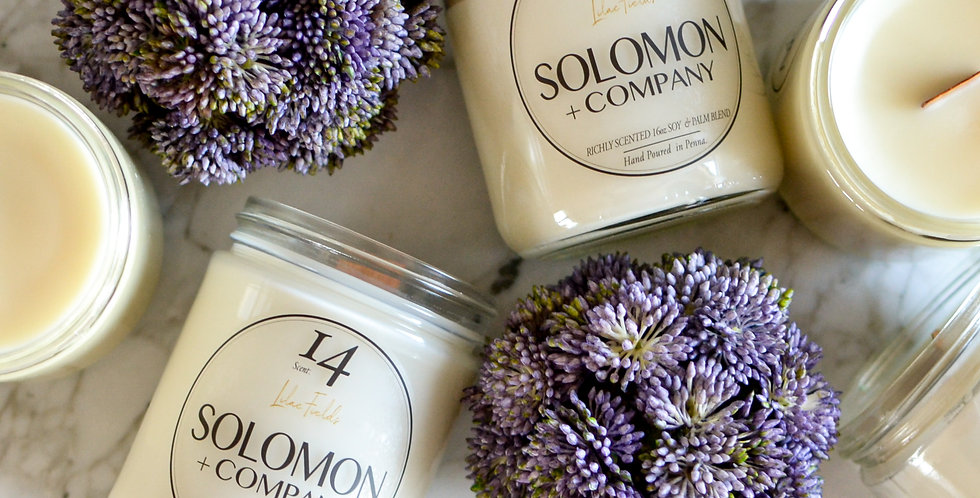 Lilac Fields 16oz Soy Candle