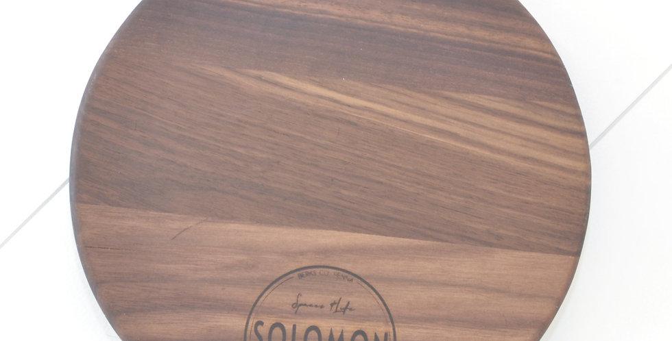 Medium Walnut Round Board