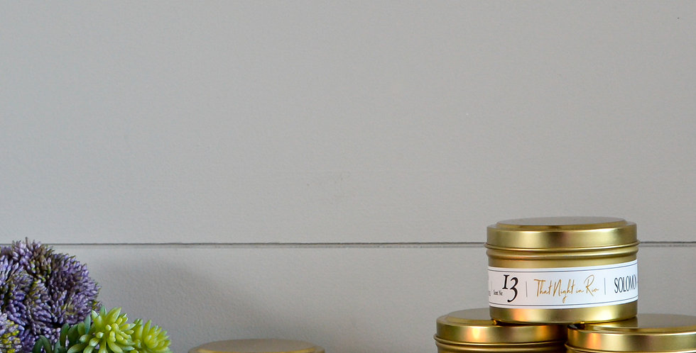 Pick any FIVE 6oz soy candle tins