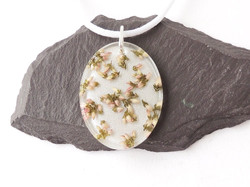 white heather necklace