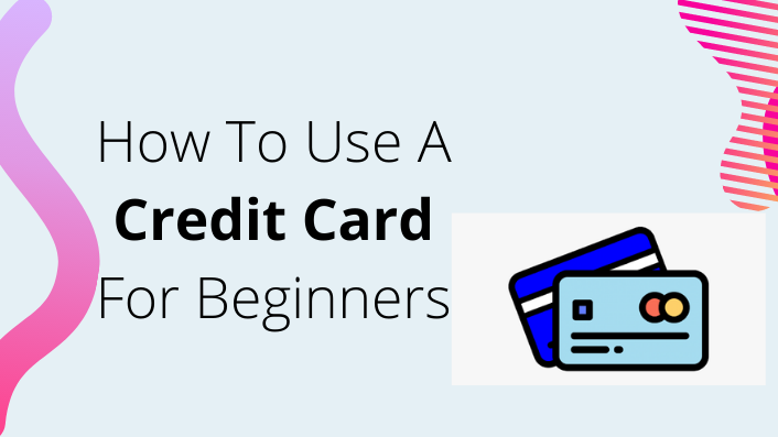 How to use credit card for beginners infographics