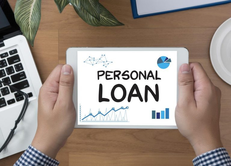 personal loan on an ipad