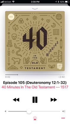 40 Minutes in the Old Testament