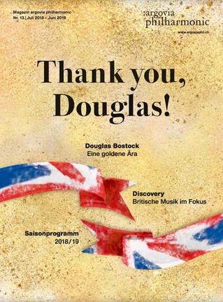 Thank you, Douglas!