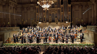 Standing ovation in the Tonhalle Zürich