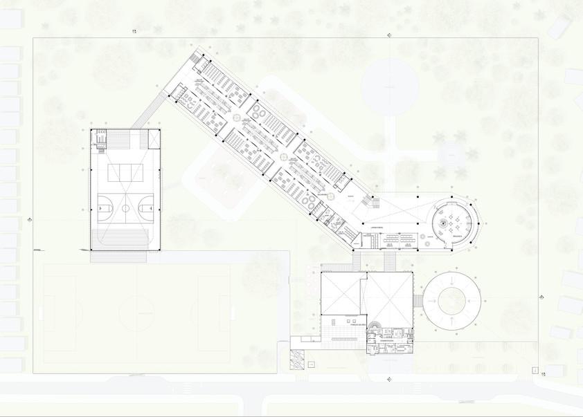 First Level Floorplan