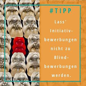 Vorteile von Initiativbewerbungen; Unterschied Blindbewerbungen