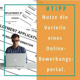 Online Bewerbungsportale bieten Vorteile, bewirb dich online
