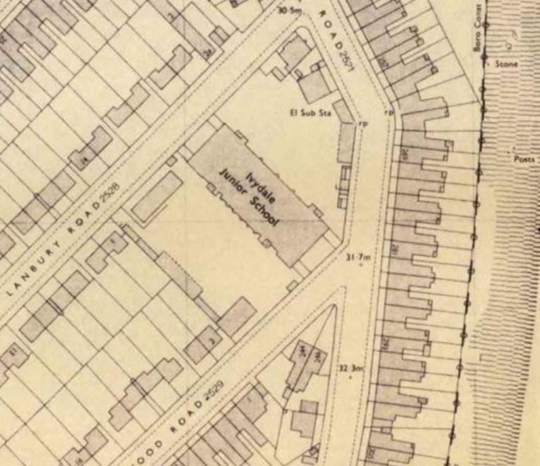 Ivydale History Map Southwark