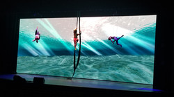 49' Wide x 18' High 3.9mm LED Wall