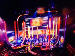 Indoor Concert Video Screen Displays