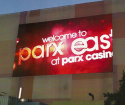 Parx Casino Philadelphia Video wall