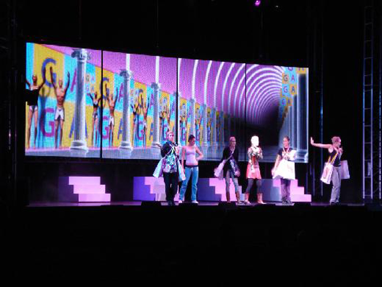 Broadway Show LED video screen