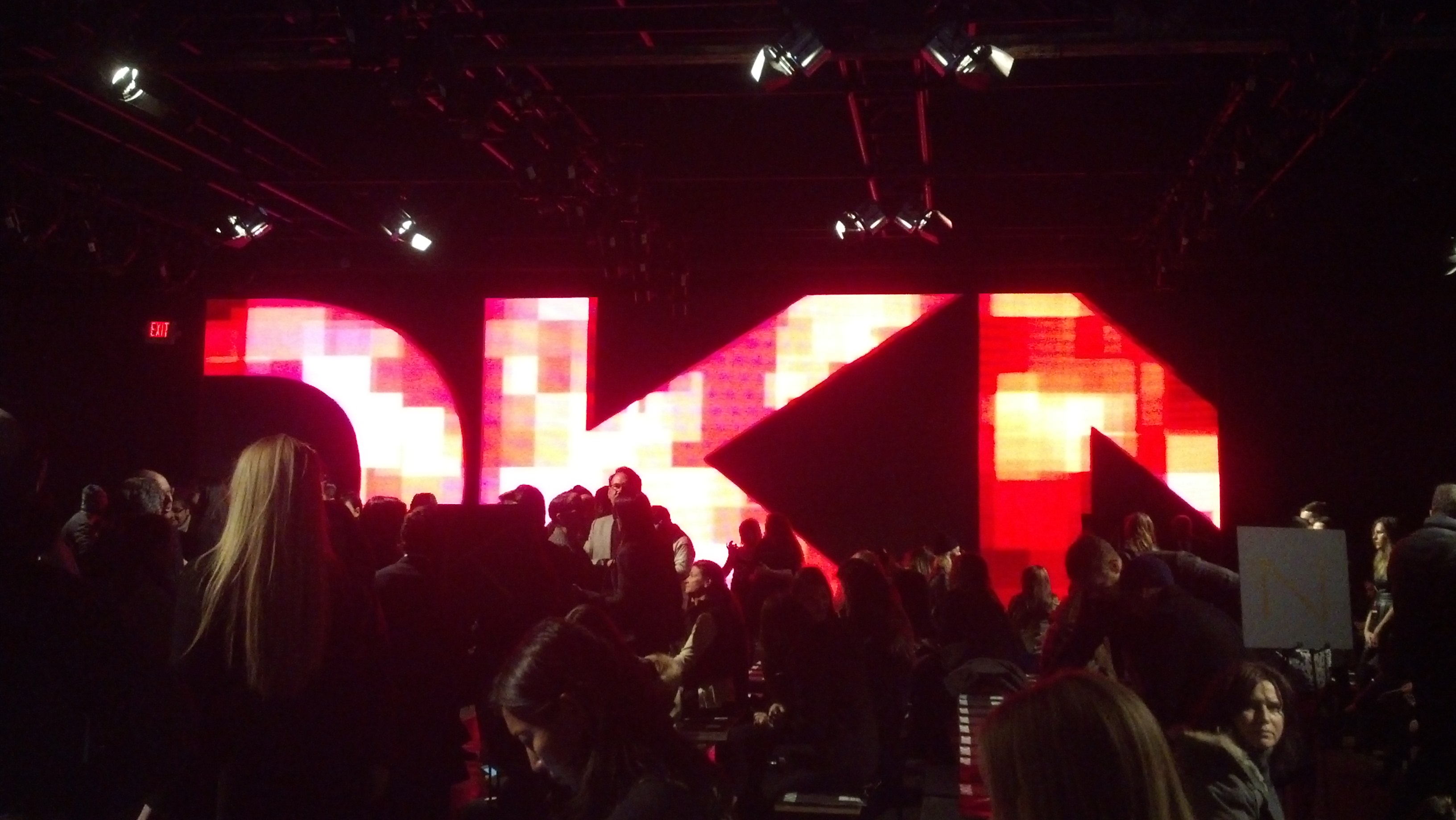 10mm LED Video Screen DKNY 2014