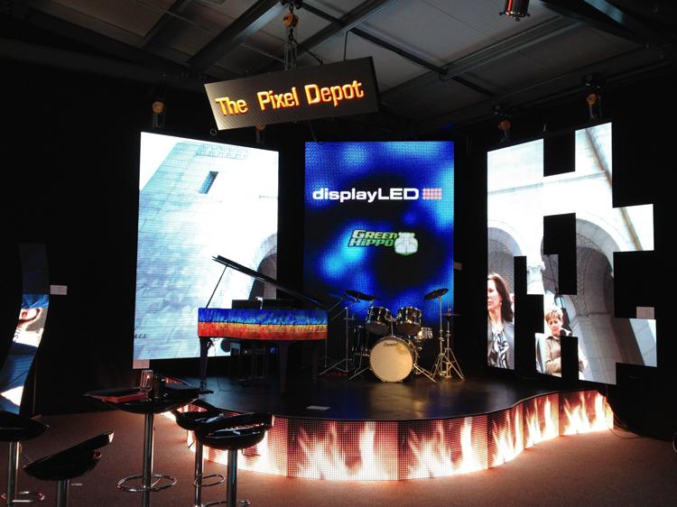 digiLED tradeshow applications