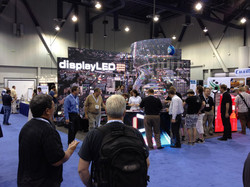 digiLED tradeshow booth